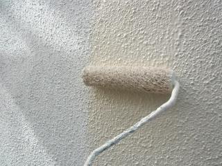 主材塗り(モルタル)